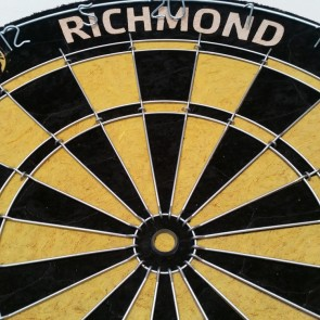 AFL Licensed DARTBOARD - Richmond TIGERS
