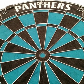 NRL Licensed DARTBOARD - Penrith PANTHERS