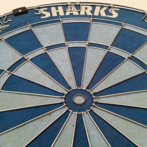 NRL Licensed DARTBOARD - Cronulla Sutherland SHARKS