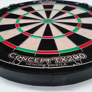 Concept TX290 Bristle Tournament DARTBOARD + 6 Free DARTS