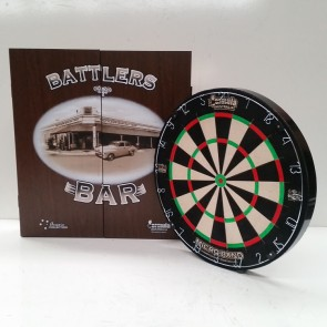 Micro Band DART BOARD & Battler CABINET