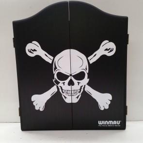 Winmau Dartboard CABINET - Skull