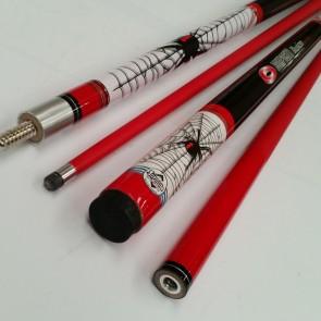 """Illusion"" 2 Pce Composite Pool Snooker Billiards 57"" CUE - Redback Spider"