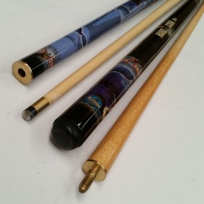 """Hard Core"" MAPLE 2 Pce Pool Snooker Billiards 57"" CUE - Rio"
