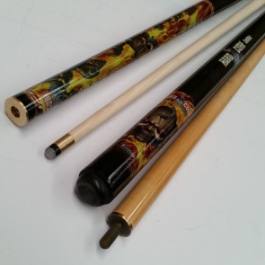 """Hard Core"" MAPLE 2 Pce Pool Snooker Billiards 57"" CUE - Gothic"