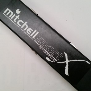 "Mitchell TRUEGRIP SPORTS CROSSBREED 3 Pce Pool Snooker Billiards CUE 57"" - BLACK"