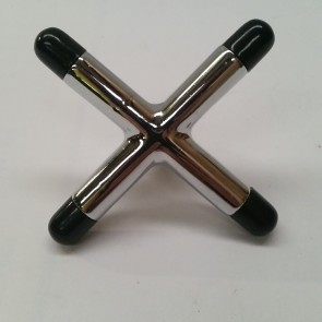 Pool Snooker Biliards CROSS REST HEAD - CHROME