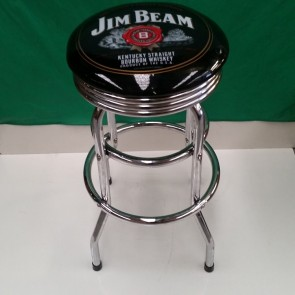 Double Ring BAR STOOL - JIM BEAM