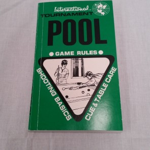 International Tournament Pool Game Rules Booklet