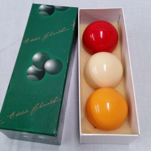 "Eddie Charlton BILLIARD BALL Set 2"" - TRI COLOUR"