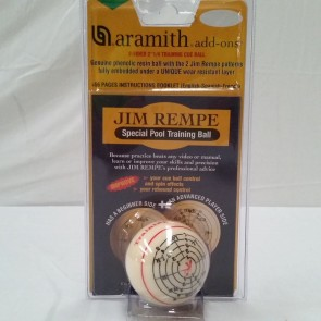 Aramith Jim Rempe Special Pool Training Ball