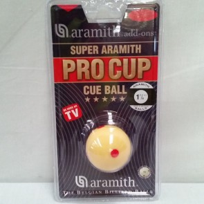 "Aramith CUE BALL 1 7/8"" - MEASLE"