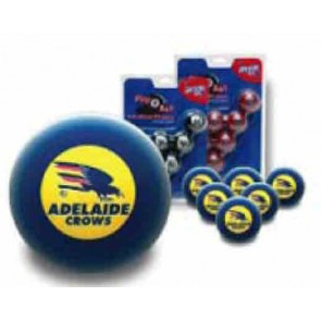 AFL Licensed POOL BALLS - 16 Ball Pack - Adelaide CROWS Old Logo