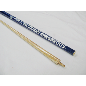 "AFL Licensed Pool Snooker Billiards CUE - 2pce 57"" - North Melbourne KANGAROOS"