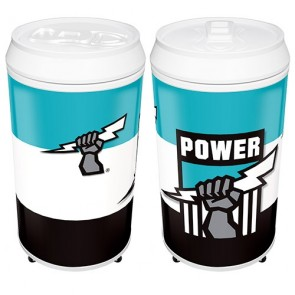 AFL Coola CAN FRIDGE - Port Adelaide POWER