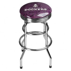 AFL Double Ring BAR STOOL - Fremantle DOCKERS