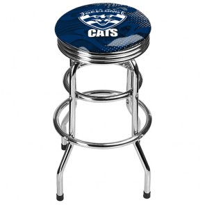 AFL Double Ring BAR STOOL - Geelong CATS