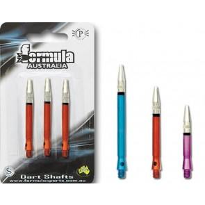 Alloy Coloured Gyro Shaft Medium Dart Shaft Set of 3