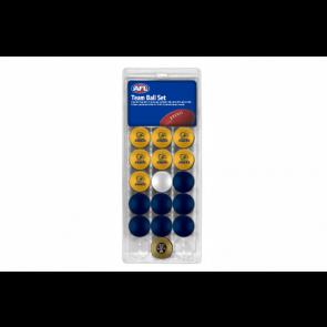 AFL Licensed POOL BALLS - 16 Pack - West Coast EAGLES