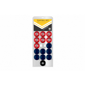 NRL Licensed POOL BALLS - 16 Pack - Sydney ROOSTERS