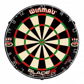 Professional Level Winmau Blade 5 DUAL CORE Best Quality Bristle DARTBOARD
