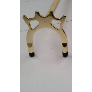 Eddie Charlton Pool Snooker Billiards SPIDER REST - BRASS