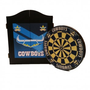 NRL Licensed DARTBOARD PACK - North Queensland COWBOYS