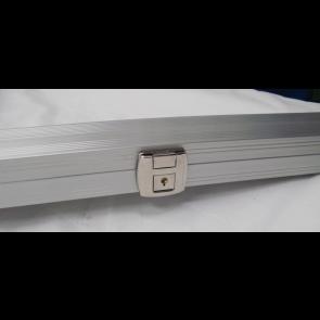 Cue Case 3/4 Aluminium Silver