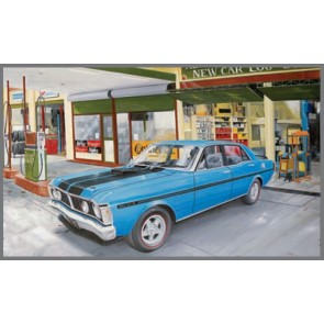 Australian Cars & Transport Falcon GTHO Phase 3 Tin Sign
