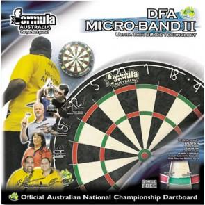 Micro-Band Bristle II DartBoard 6 Free Darts