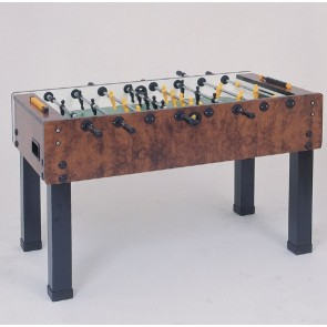 Garlando G500 Soccer FOOSBALL Table Briar Wood