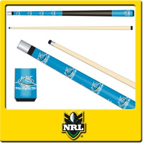 NRL Licensed JUNIOR POOL CUE - Cronulla Sutherland SHARKS