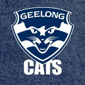 AFL Licensed Pool Snooker Billiards CLOTH 9 Foot - Geelong CATS