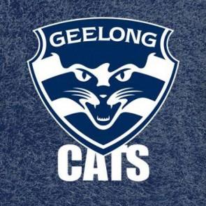 AFL Licensed Pool Snooker Billiards CLOTH 9 Foot - Geelong CATS