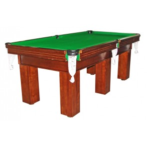 Charlton Pro Slate Square leg Pool Table Green 8F