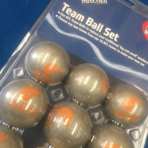 AFL Licensed POOL BALLS - 16 Pack - Greater Western Sydney GWS GIANTS