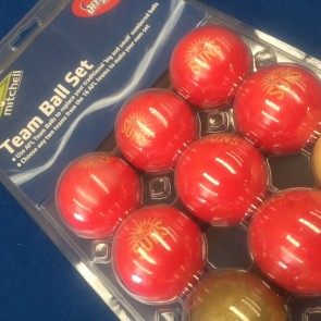 AFL Licensed POOL BALLS - 16 Pack - Gold Coast SUNS