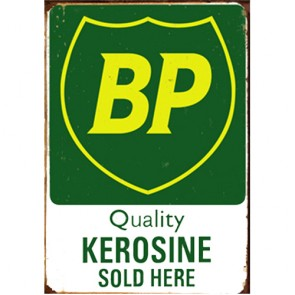 Australian Cars & Transport - BP Quality Kerosine Vintage - Tin Sign