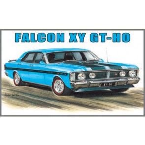 Australian Cars & Transport Ford Falcon XY GT HO True Blue Tin Sign