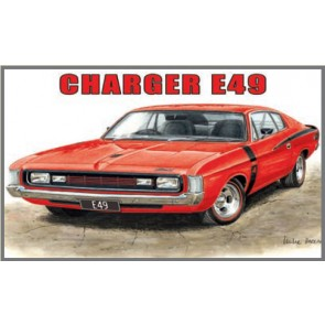 Australian Cars & Transport Chrysler Charger E49 Tin Sign