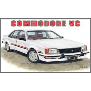 Australian Cars & Transport HDT VC Commodore Tin Sign