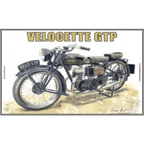 Australian Cars & Transport Velocette GTP 1932 Tin Sign