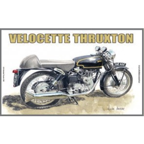 Australian Cars & Transport Velocette Thruxton 1958 Tin Sign