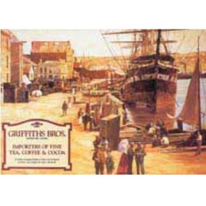 Australian Heritage Series Griffiths Brothers Tea Coffee Cocoa Tin Sign