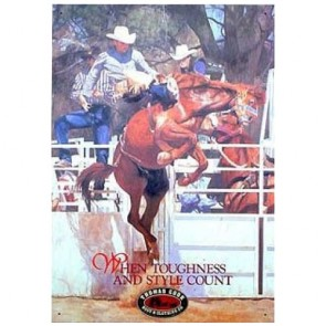 Australian Heritage Series Thomas Cook Horse Rodeo Tin Sign