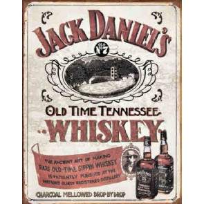 JD - Sippin' Whiskey - Tin Sign