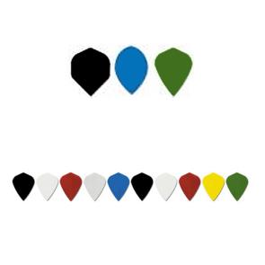 Polyester Plain DART FLIGHTS Kite - Set of 3