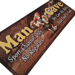 Man Cave Bar Runner