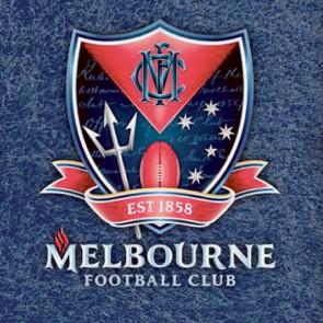 AFL Licensed Pool Snooker Billiards CLOTH 9 Foot - Melbourne DEMONS