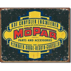Chrysler - Mopar '37 - '47 - Tin Sign
